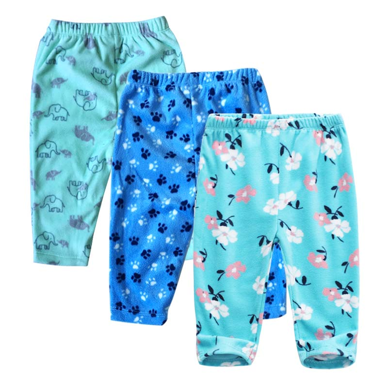 PP Pants 2019 Baby Fashion Model Babe Pants Cartoon Animal Printing Baby Trousers Kid Wear Baby Pants 6-24M