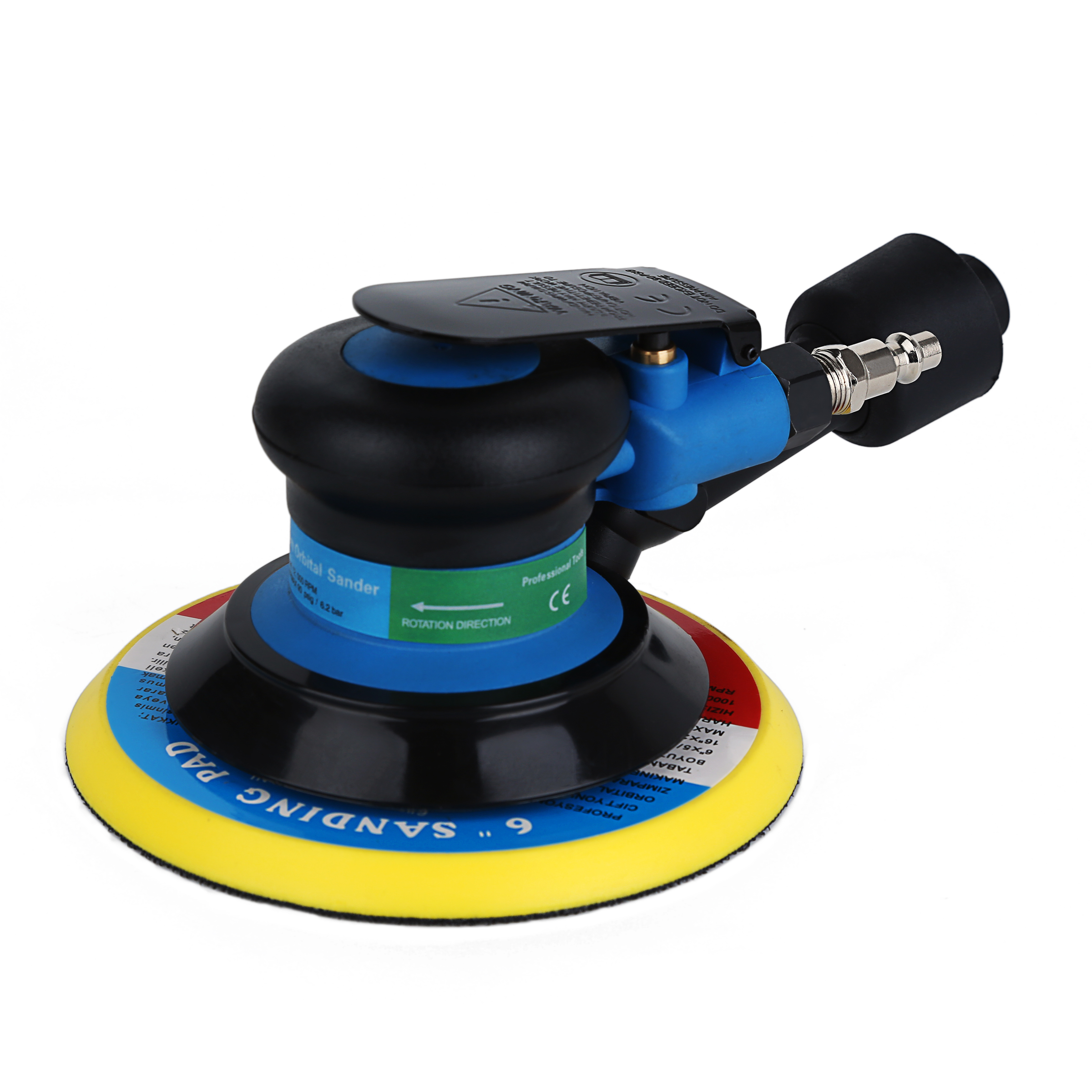 VALIANTOIN 6 inch Polisher 10500 RPM No-Load Speed Car Paint Care Tool Polishing Machine Sander Electric Woodworking Polisher