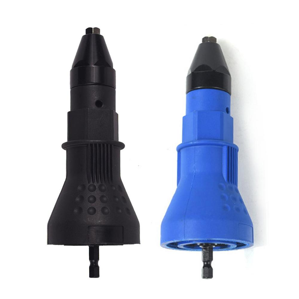 Electric Rivet Nut Tool Riveting Tool Cordless Riveting Drill Adapter Electric Rivet Tool Pull Rivets Easy To Use 1 Pcs