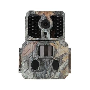 SV-TCM16H 12MP Hunting Camera LCD Screen Waterproof Infrared Low-Glow LED Night Vision Tracker Digital Camera