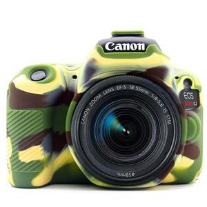 Image 2 - Silicone Armor Skin Case Body Cover Protector for Canon EOS 200D Mark II 250D Rebel SL2 SL3 DSLR Camera