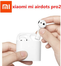 100% Asli Xiaomi Airdots PRO 2 Xiaomi Air 2 Tws Bluetooth Headset 2 Mi Benar Wireless Earphone 2 P Kontrol dual Mi C Di Saham(China)