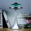 НЛО светодиодный светильник Bluetooth динамик без потерь музыка анти Гравитация летающие тарелки Магнитный Плавающий динамик беспроводная зар...