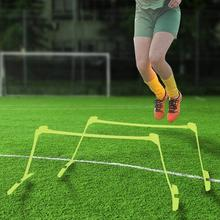 Outdoor Adjustable Height Speed Hurdles Speed Training Agility Ladders for Soccer Training and Sports Football Training Hurdles