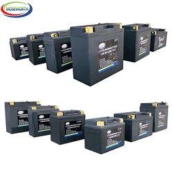 12V Motorfiets Auto Batterij LiFePO4 4Ah 7AH 9Ah Lithium Fosfaat Ionen Vrieskou Sterker Power Met Bms Voltage Bescherming