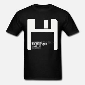 New RADIOHEAD Ok Computer OKNOTOK 1997 Album Men's Black T-Shirt S - 3XL