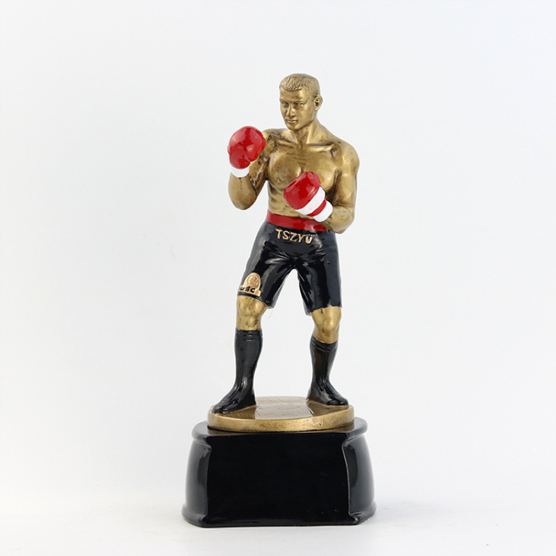 1 pçs tamanho grande figura emulacional modelo boxer decoração boxing spotter decorativo pugilist casa ornamento fãs lembranças presente