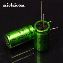 2PCS Nichicon MUSE ES/BP/1000uF/25V Promise Audio Capacitor