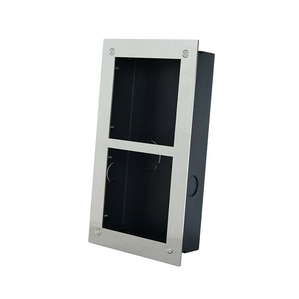 VTOF002 & VTOB111 For VTO2000A-C  Flush Mounted Box For 2 Modules