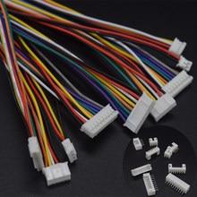 10 компл./лот Micro JST PH PH2.0 коннектор шага 2,0 мм 2/3/4/5/6/7/8/9/10 P штырьковый кабель 26AWG длинный Штекерный разъем