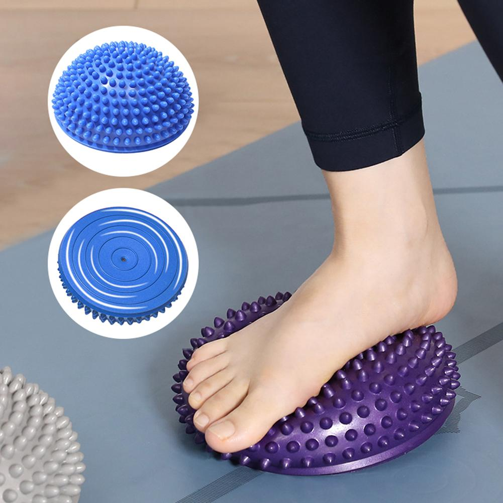 Half-ball Muscle Foot Body Exercise Stress Release Fitness Yoga Massage Ball Foot Body Yoga Massage Ball Yoga Massage Ball Ball