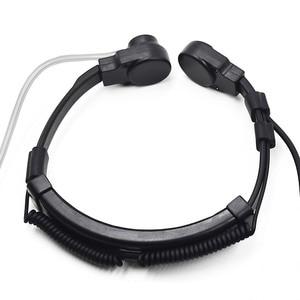 Image 5 - Uzatılabilir boğaz mikrofon mikrofon kulaklık kulaklık CB radyo Walkie Talkie BAOFENG UV 5R UV 5RE artı UV B5 UV 6R GT 3 UV S9