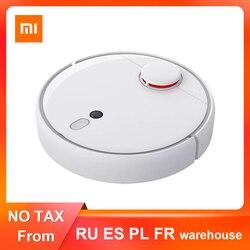 Xiaomi mijia novo robô aspirador de pó 1s 2, automático, esterilizar poeira de ciclone, wi-fi, planejado inteligente rc para casa