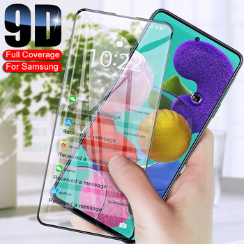 9D+Screen+Protective+Glass+on+For+Samsung+Galaxy+A30+A50+A31+A51+A71+A01+A11+A21+A21S+M11+M21+M31+M51+Tempered+Glass+Film+Case