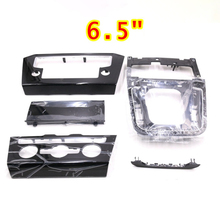 Radio-Frame-Panel Passat B8 Black for VW Piano Paint Cd-Plates Air-Conditioning-Switch-Plates