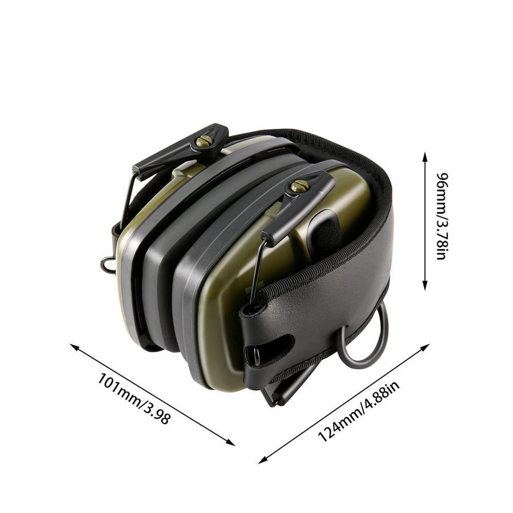 Тактические наушники с защитой слуха, наушники с шумоподавлением, усилением звука, шумоподавлением, BK