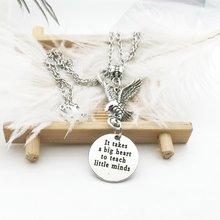 Модное ожерелье в готическом стиле с подвеской виде орла металлическое