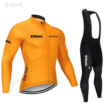 2019 strava outono manga longa camisa de ciclismo conjunto bib calças ropa ciclismo roupas de bicicleta mtb camisa uniforme roupas masculinas 14