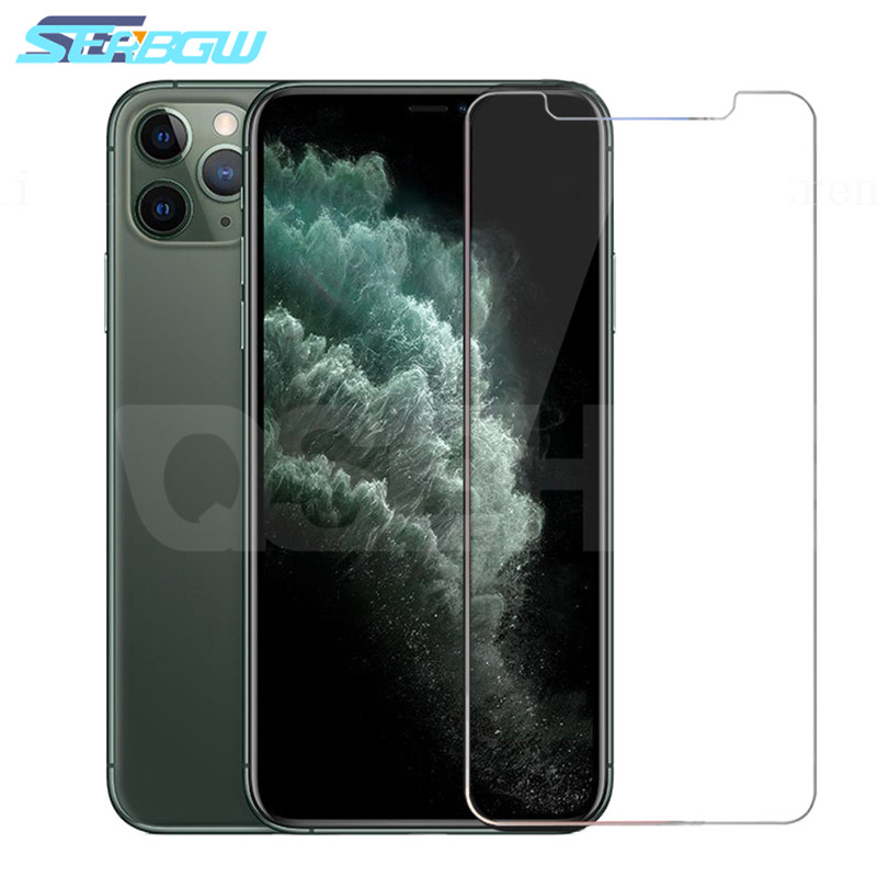 9H Protective Glass On The For IPhone X XS 11 Pro Max XR Tempered Glass For IPhone 7 8 6 6s Plus 5 5S SE Screen Protector Film