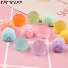 DECOCASE 30pcs Sweet Sugar Gift Slime Charms Beads Headwear Flatback Crafts Ornaments Decoration Phone Case DIY Accessories