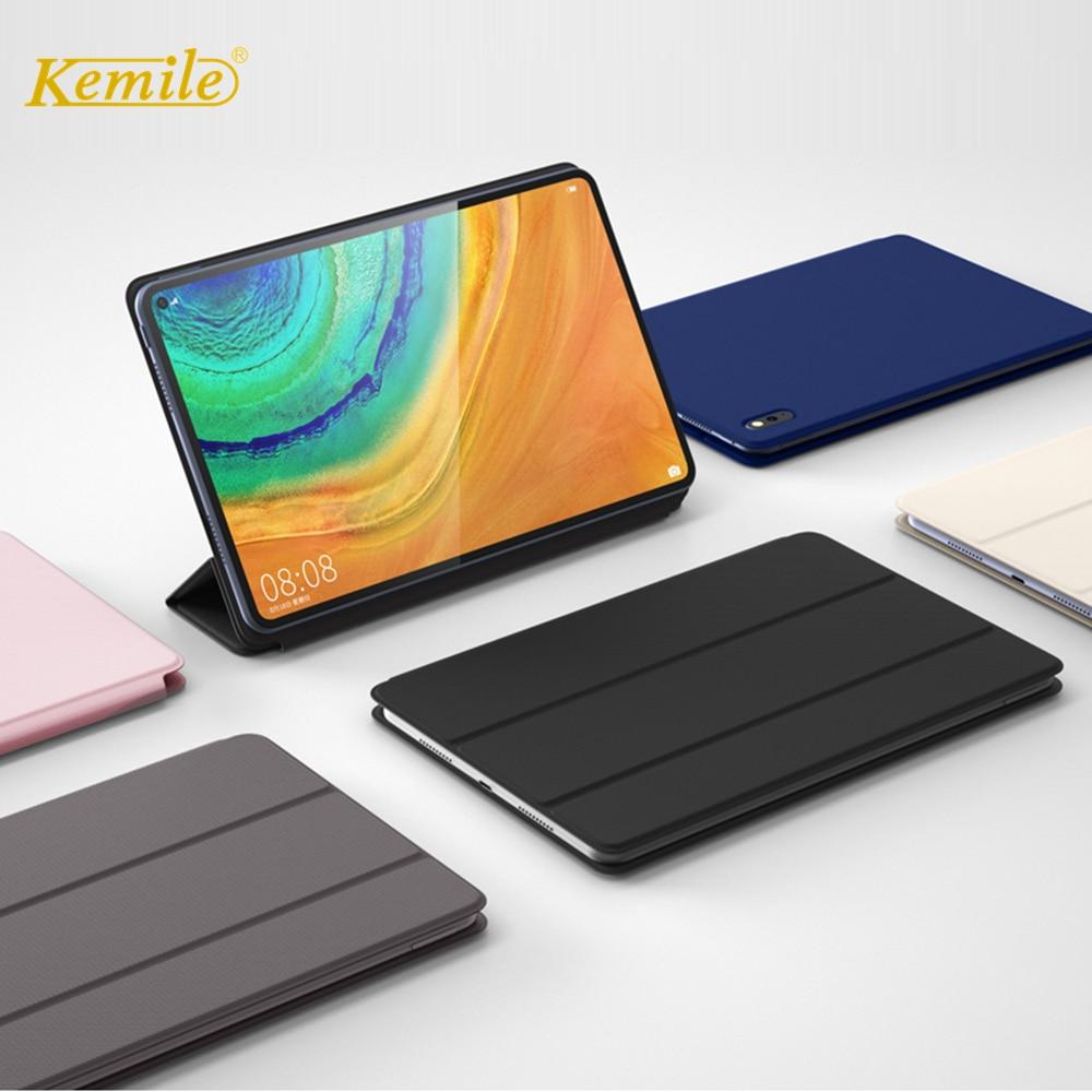 case for Huawei MatePad Pro 10.8 Funda Slim Folding Stand Hard Back Cover for Huawei MatePad Pro 10.8 2019 Case MRX W09 AL09 W19|Tablets & e-Books Case| |  - title=