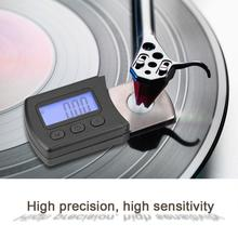 Stylus-Gauge Digital Record-Needle Tracking LP Portable for Scale-Meter Lcd-Backlight