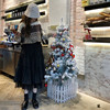 Long Tulle Midi Skirts Womens 2020 Autumn Elastic High Waist Mesh Tutu Pleated Skirts Female Black White Long Skirt Streetwear 5