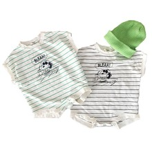 Facejoyous 0-24M Baby Bodysuits Newborn Clothes Cotton Short Sleeve Outfits Summ