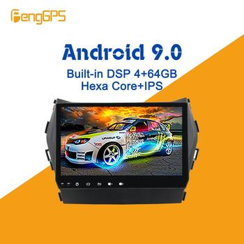 Android 9.0 PX6 DSP For Hyundai IX45 Santa fe 2013 - 2017 Car Multimedia Stereo Player No DVD Radio GPS Navigation Head unit