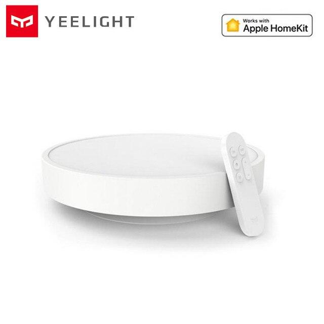 Transporte rápido, original yeelight smart app controle inteligente led luz de teto lâmpada ip60 dustproof wifi/bluetooth para smart app