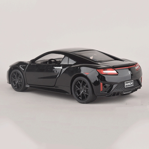Image 3 - אקורה NSX 1:32 Diecast דגם רכב סימולציה מתכת ספורט רכב סגסוגת מכוניות עם קול אור כלי רכב למשוך בחזרה צעצוע מכונית לילדים