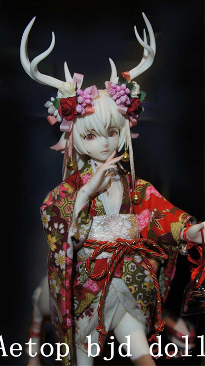 Шарнирная кукла AETOP 1/4, кукла Funan, мужской олень, версия животного, игрушка, модная полимерная кукла «let alone»
