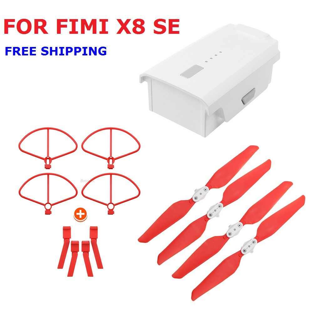 Original FIMI X8 se Bateria 11.4v 4500mAh Conjunto De Hélice Original Para FIMI X8SE