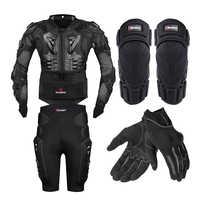 HEROBIKER Giacca Moto Full Body Armatura Del Motociclo Petto Armatura Corse di Motocross di Protezione Ingranaggi di Protezione Moto S-5XL