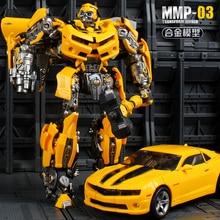 Bambola di trasformazione YueXin, guerriero ape, MPM03, 23CM, MMP03, in lega, Anime, Action Figure, Robot, collezione G1, modello, giocattoli