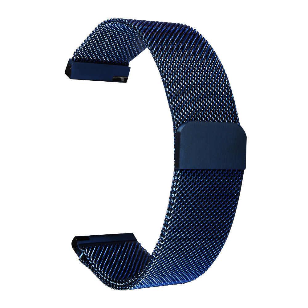 Correa de reloj de liberación rápida General milanesa Cierre magnético correa de reloj de acero inoxidable correa de repuesto 16mm 18mm 20mm 22mm