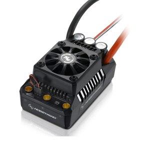 Image 4 - Originele Hobbywing Ezrun Max5 V3 200A Waterdichte Borstelloze Esc Voor 1:5 Rc Auto Op Weg Auto