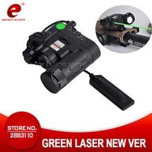 Element Defense armas DBAL-D2 Green Laser Led Torch Tactical Flashlight Gun Weapon Light EX454 Softair Hunting Shooting IR