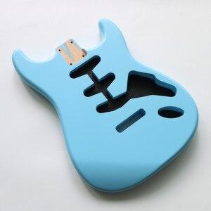 Image 2 - نيترو انتهى لتقوم بها بنفسك SSS سونيك الأزرق ألدر ST الغيتار الجسم ل SSS اليدوية الكهربائية عِدد جيتار