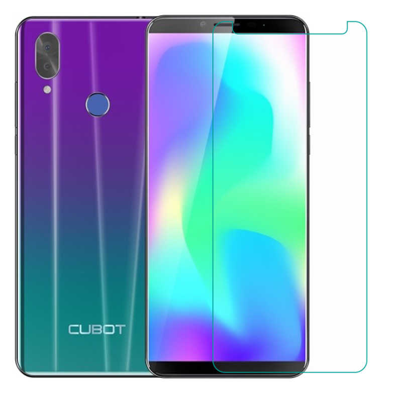 2PCS Tempered Glass for Cubot Dinosaur Note S Rainbow 2 X19 X18 Plus R9 J3 Pro J5 Quest  Power Protective Film Screen Protector