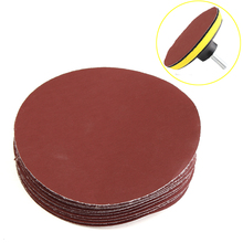 Sanding-Disc Drill-Adapter Sandpaper with Backer-Pad M10 for Car-Cleaning Polishing 10pcs/Set