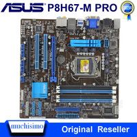 ASUS P8H67 M PRO LGA 1155 Motherboard Intel H67 DDR3 32GB PCI E 2 0 USB2.0 ASUS P8H67 M PRO DDR3 i7 i3 original Verwendet Mainboard|Motherboards|   -