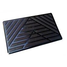 Hard-Wearing Car Universal Foot Pad Plastic V-Foot Pedal Wear Block Anti-Slip Mat Double-Layer Buckle Side Buckle Plastic Pedal double buckle canvas colour block backpack