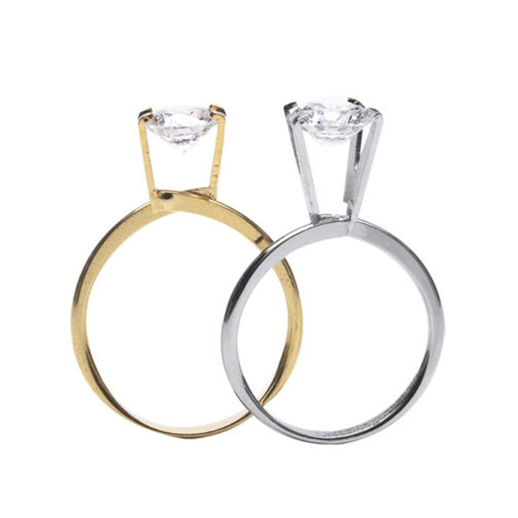Spring Type Ring Stone Gemstone Diamond Holder Display Jewelry Tool