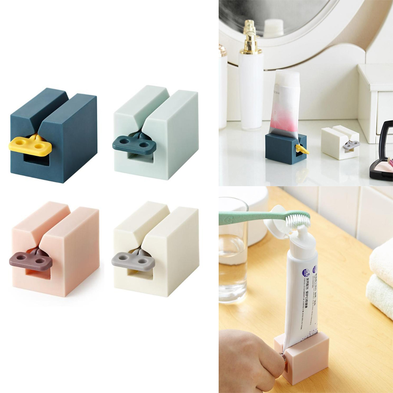 Multifunctional Toothpaste Device Tube Squeezer Plastic Tooth Paste Dispenser Manual Lazy Toothpaste Tube Squeezer Press Squeeze