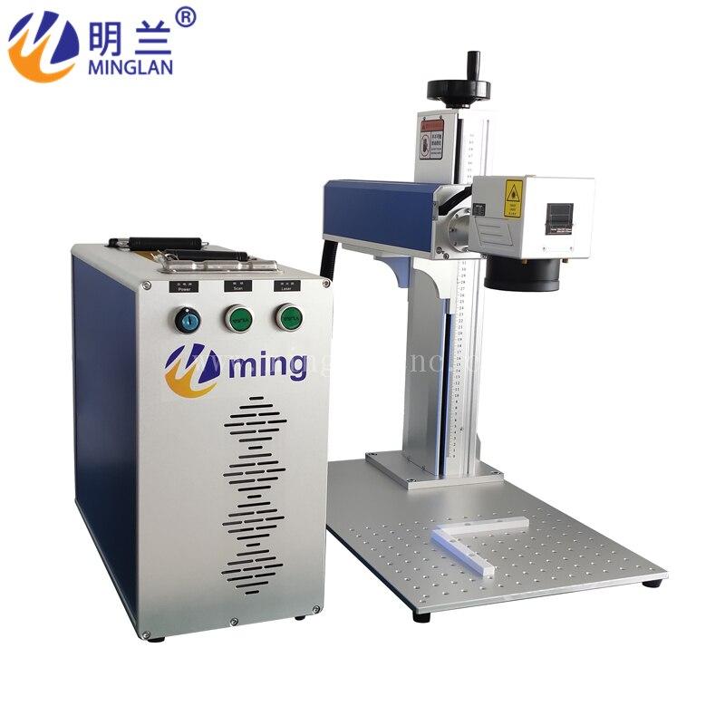 Cnc Laser Engraving Machines/ 20w JPT Laser Source/ Metal Engraving Machine