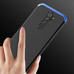 Image 5 - Shockproof Phone Case For Xiaomi Redmi Note 8 Pro note 9 pro note 7 6 5 pro mi 10 pro Aluminum metal bumper + Hard PC Cover Case