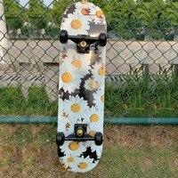 Skateboarders-Tabla de Skate de arce para adultos y niños, para principiantes, de 79cm/31 \