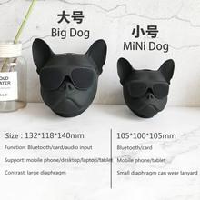 Moda Aerobull pies pies głowy Bluetooth 4 1 smycz buldog Bluetooth głośnik bezprzewodowy subwoofer HIFI wsparcie U dysku karty TF tanie tanio ssdfly Przenośne Z tworzywa sztucznego Pełny Zakres 2 (2 0) CN (pochodzenie) 25 W NONE Inne Aktywny 70dB 2-4 Ohm Funkcja telefonu