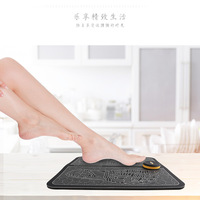 Hot Selling EMS Health Care Therapy USB Charging Foot Massage Instrument Foot Massager Foot Massage Mat Foot Massage